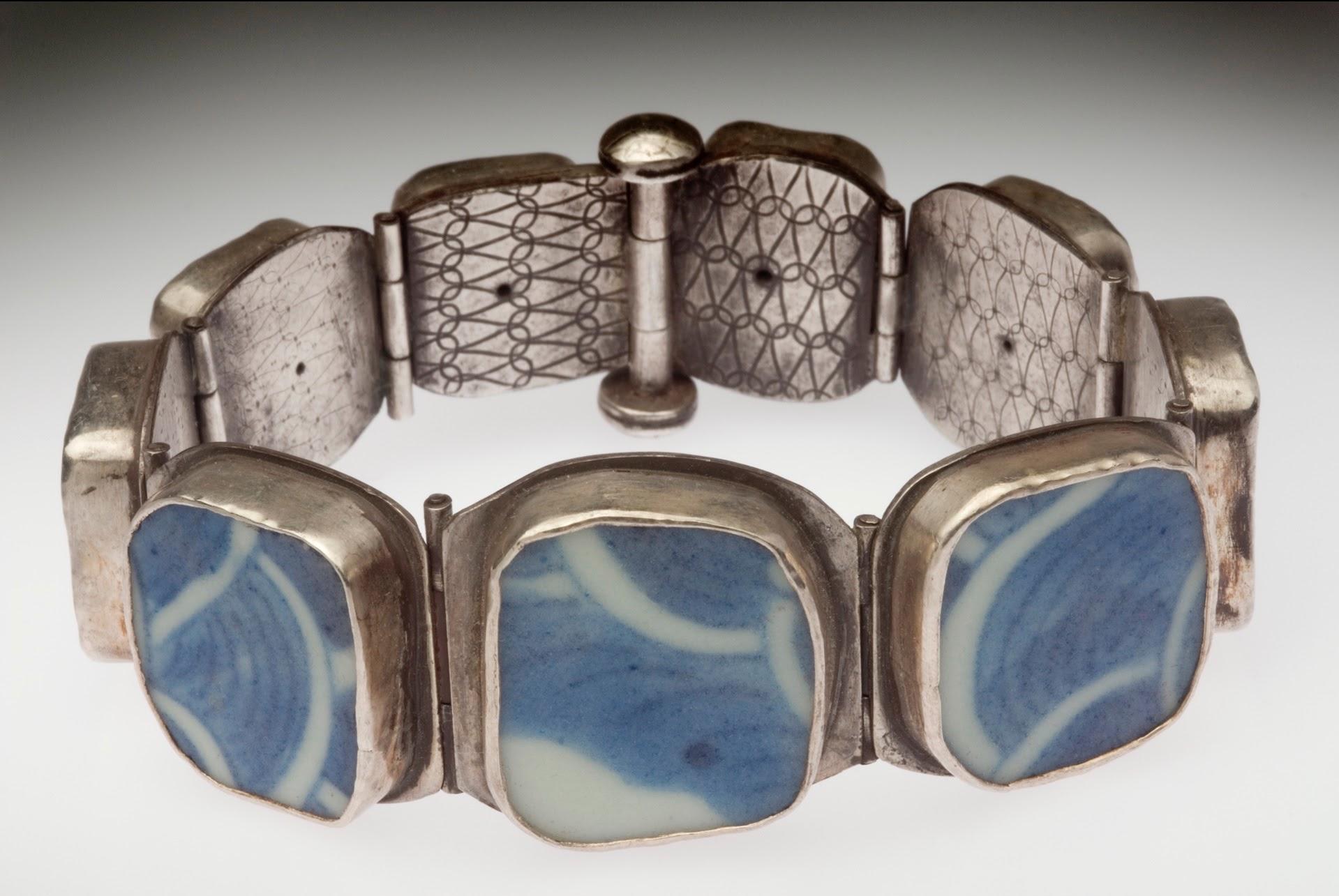 Chinese Porcelain Bracelet