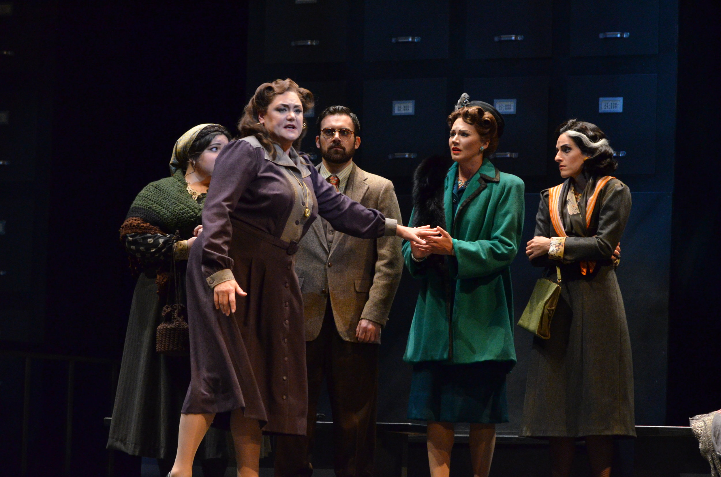 The Consul, Florida Grand Opera 2015 (Photo: Brittany Mazzurco Moscato)