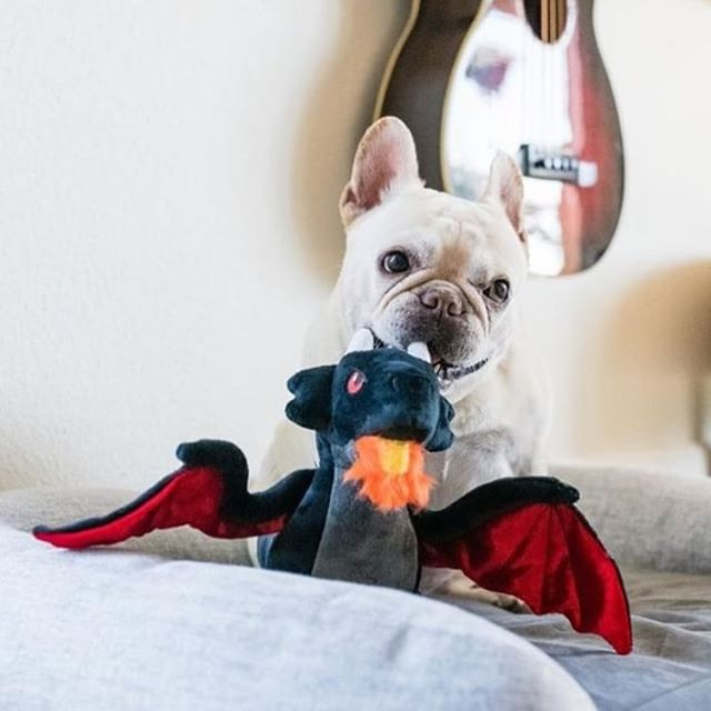 Spoiler Alert 🚨  Looks like Queen Daenerys isn't the only mother of dragons! Coming in hot next month, our fabulous new addition to the PLAY plush family, Darby the Dragon. 🐉