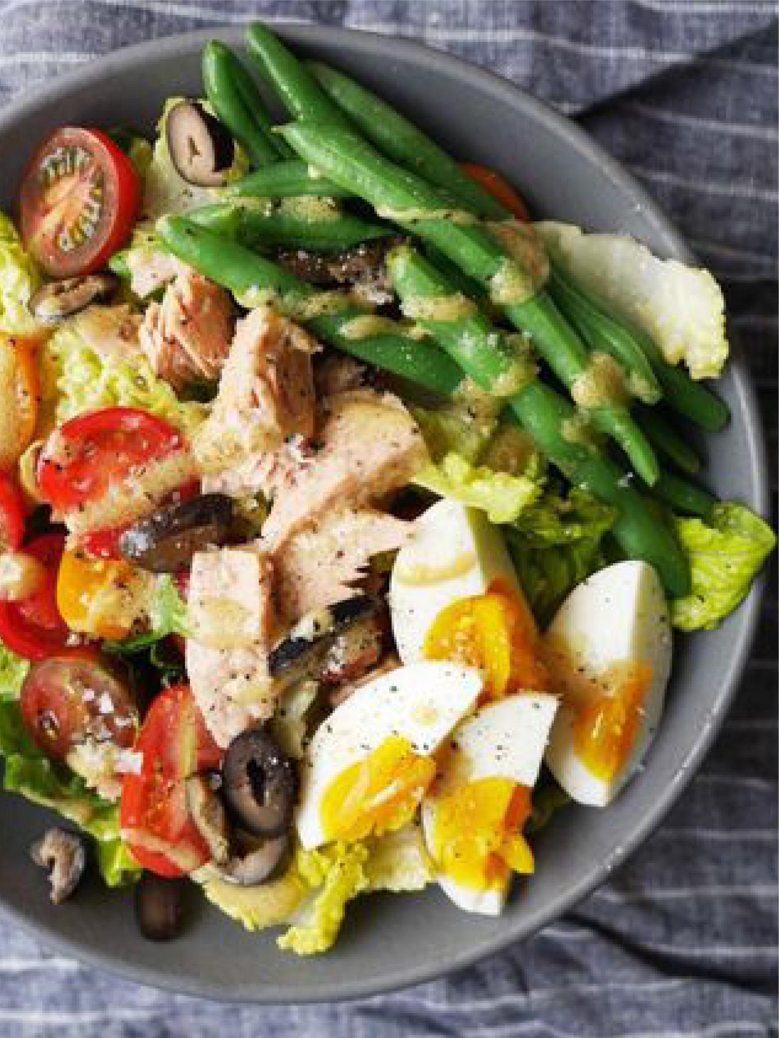 Niçoise-Style Chopped Salad  Delish