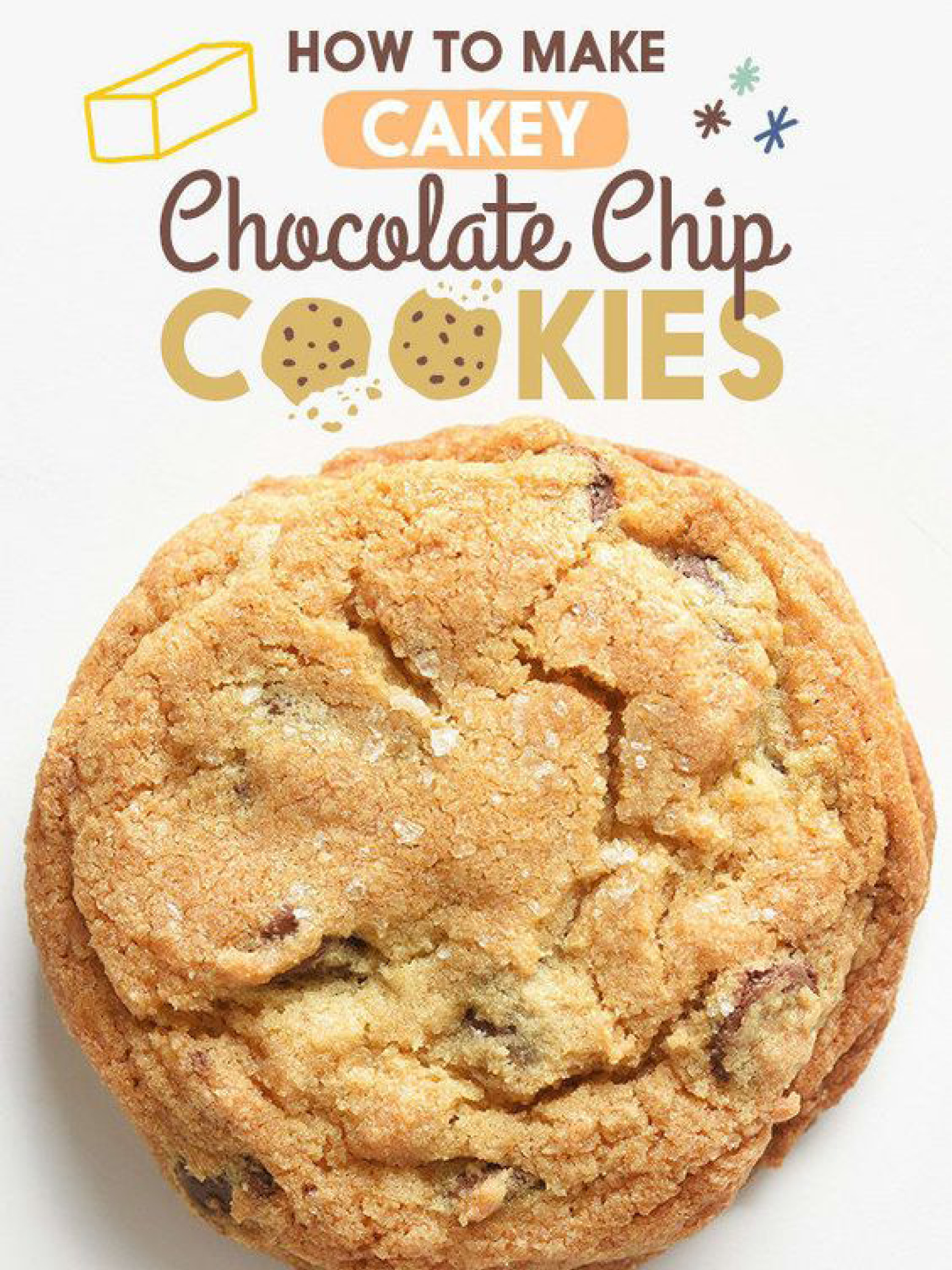 These Chocolate Chip Cookies Are Perfect For Cake Lovers  Buzzfeed