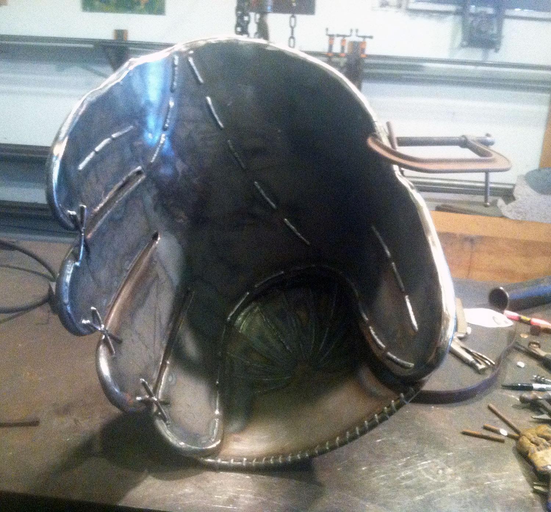 fabrication of baseball glove