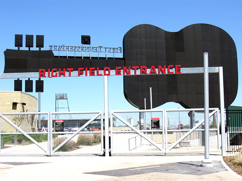 Right Field Entrance