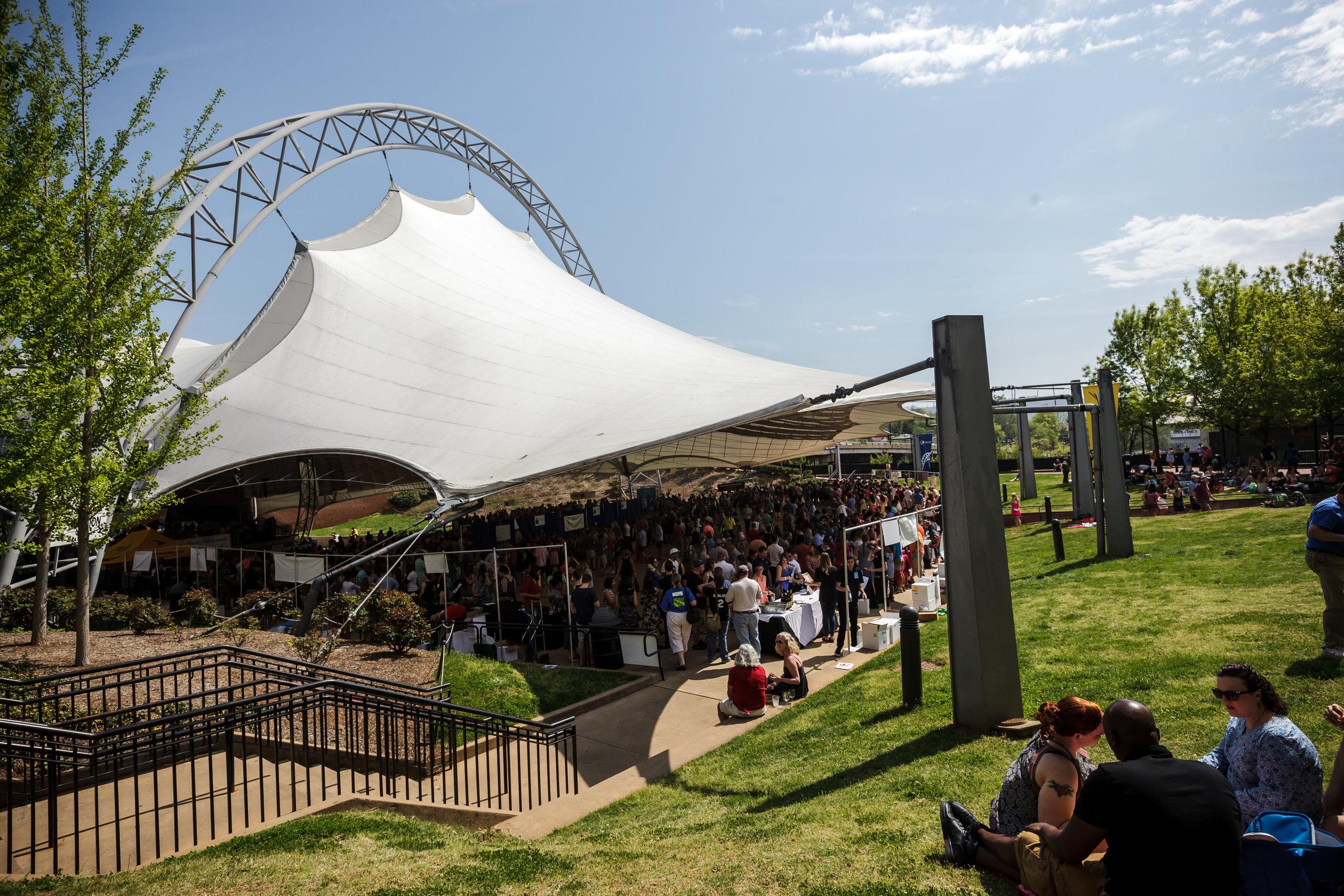 pavilion grand tasting 2018
