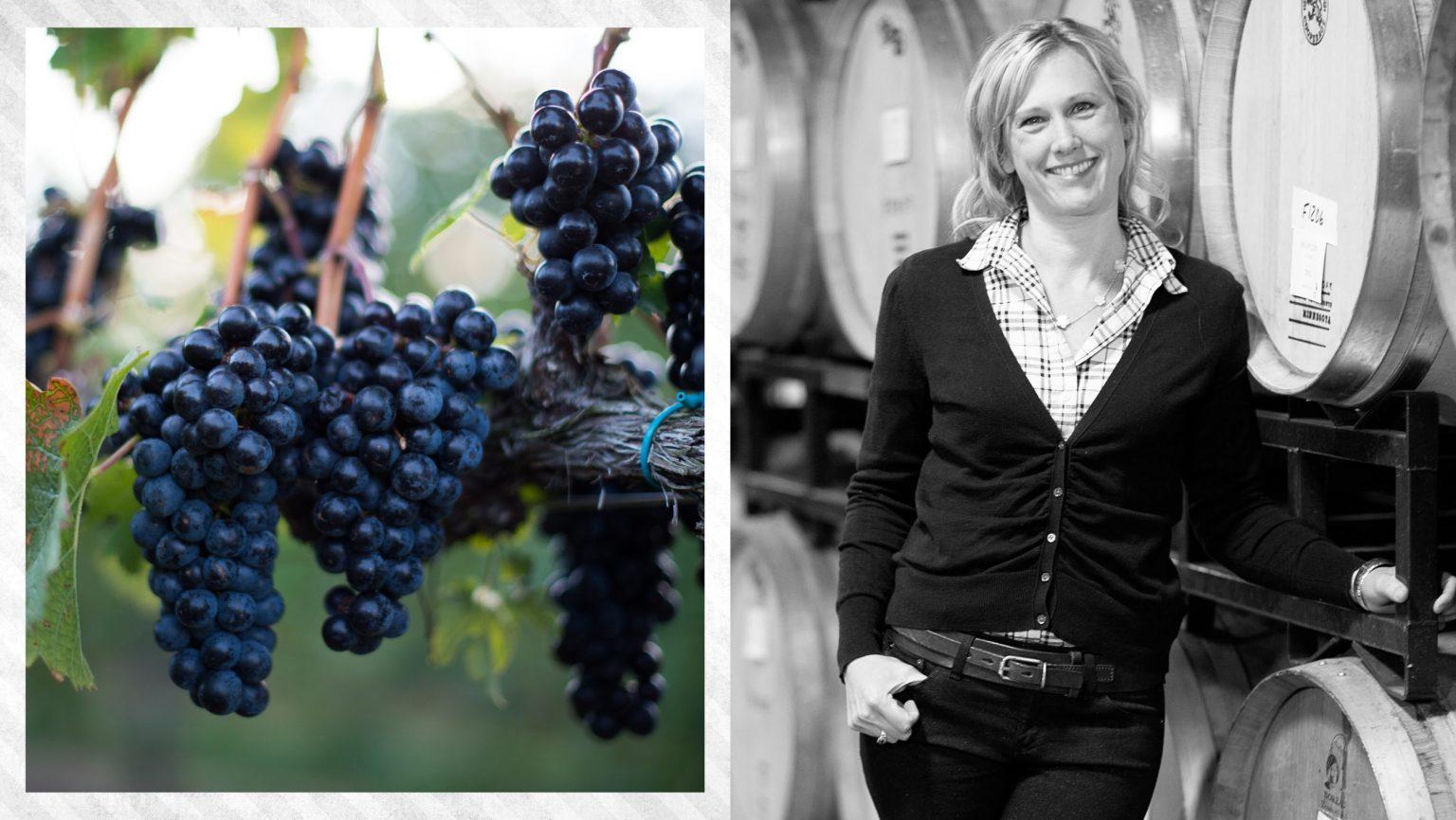 Emily Pelton. Photo courtesy of Veritas Vineyards.