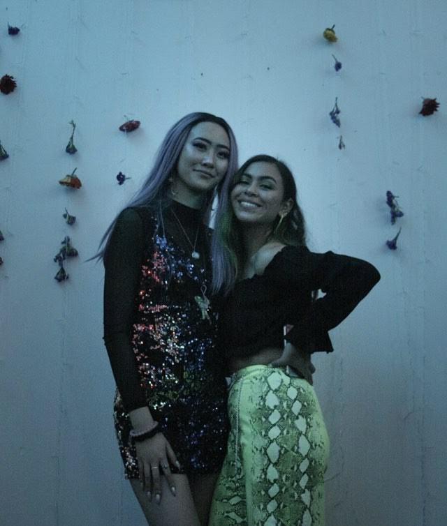 """Ann Liu and Camila Ceja, organizers of """"Smoke in My Eyez"""""""