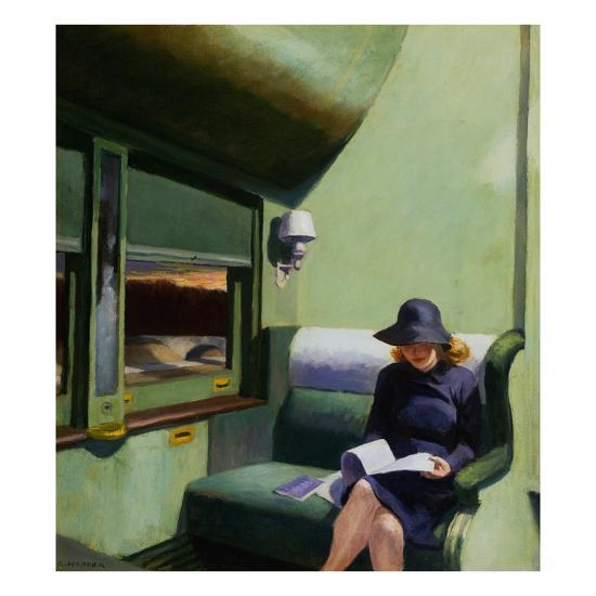 Compartment C Car by Edward Hopper (1938)