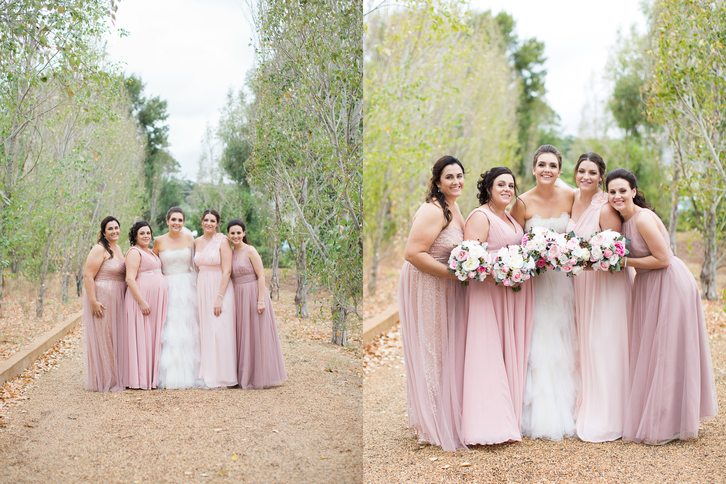 bridesmaids photos