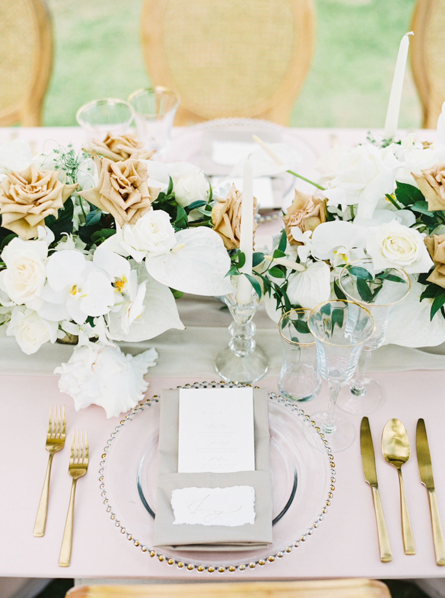 Phuket wedding inspiration exotic and tropical beach wedding ideas in Thailand on fine art film by Sheri McMahon