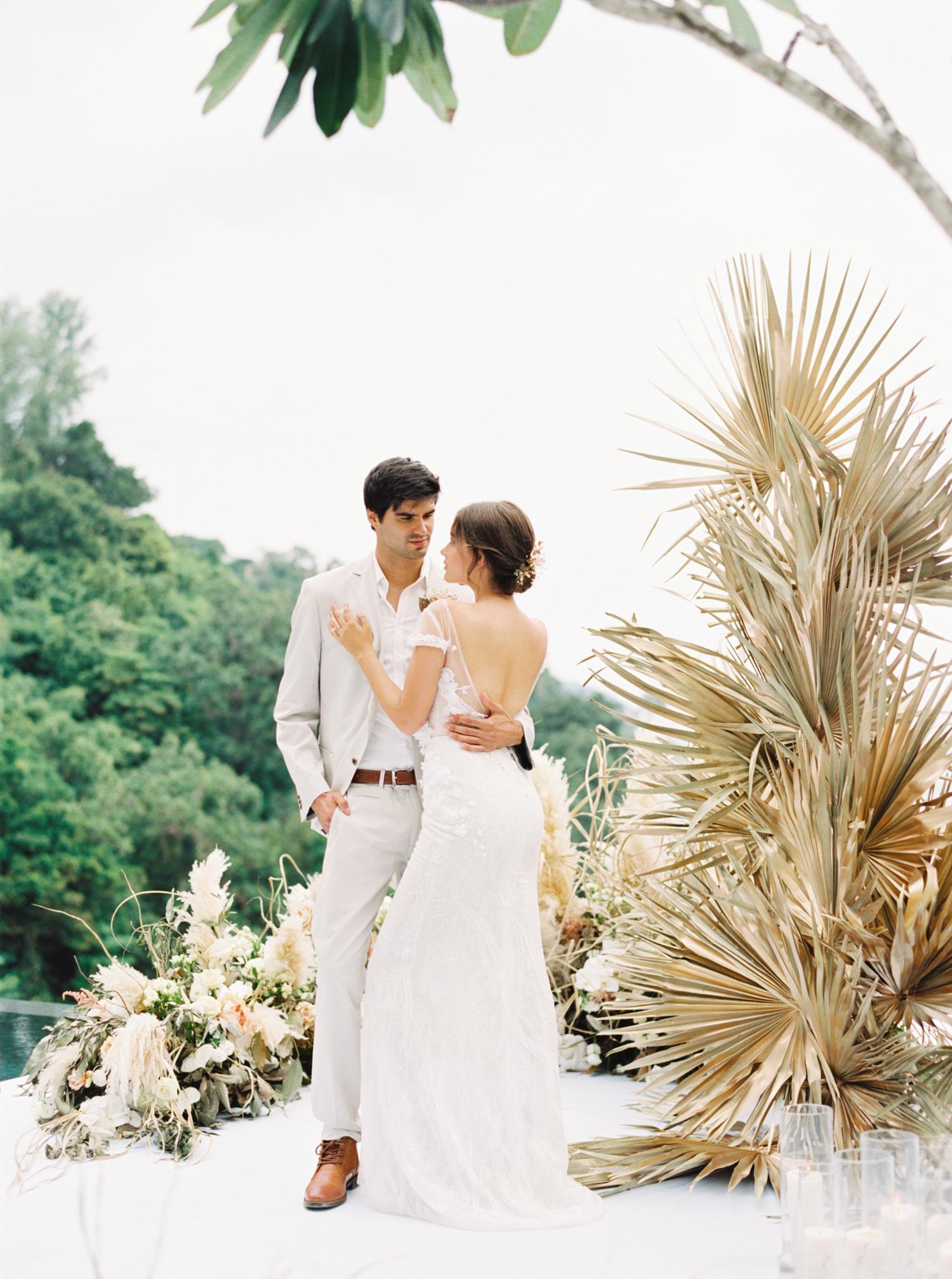 Destination Wedding in Phuket Thailand at Luxury Private villas