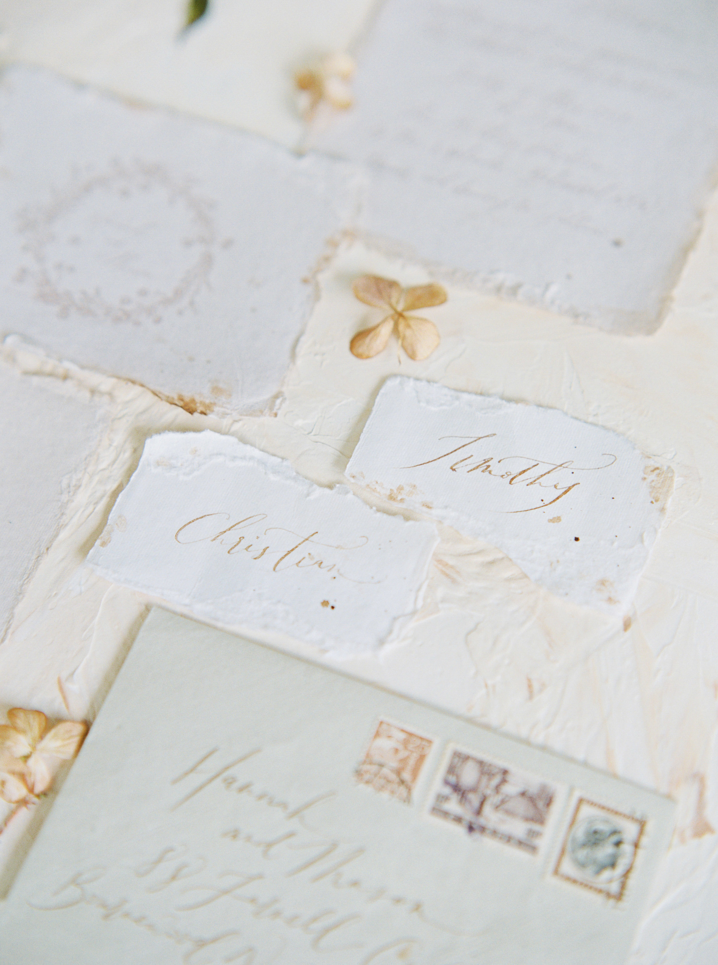 Copy of Sheri McMahon Fine Art Film NSW Sydney Bowral Wedding Photographer - Wedding invitation suit