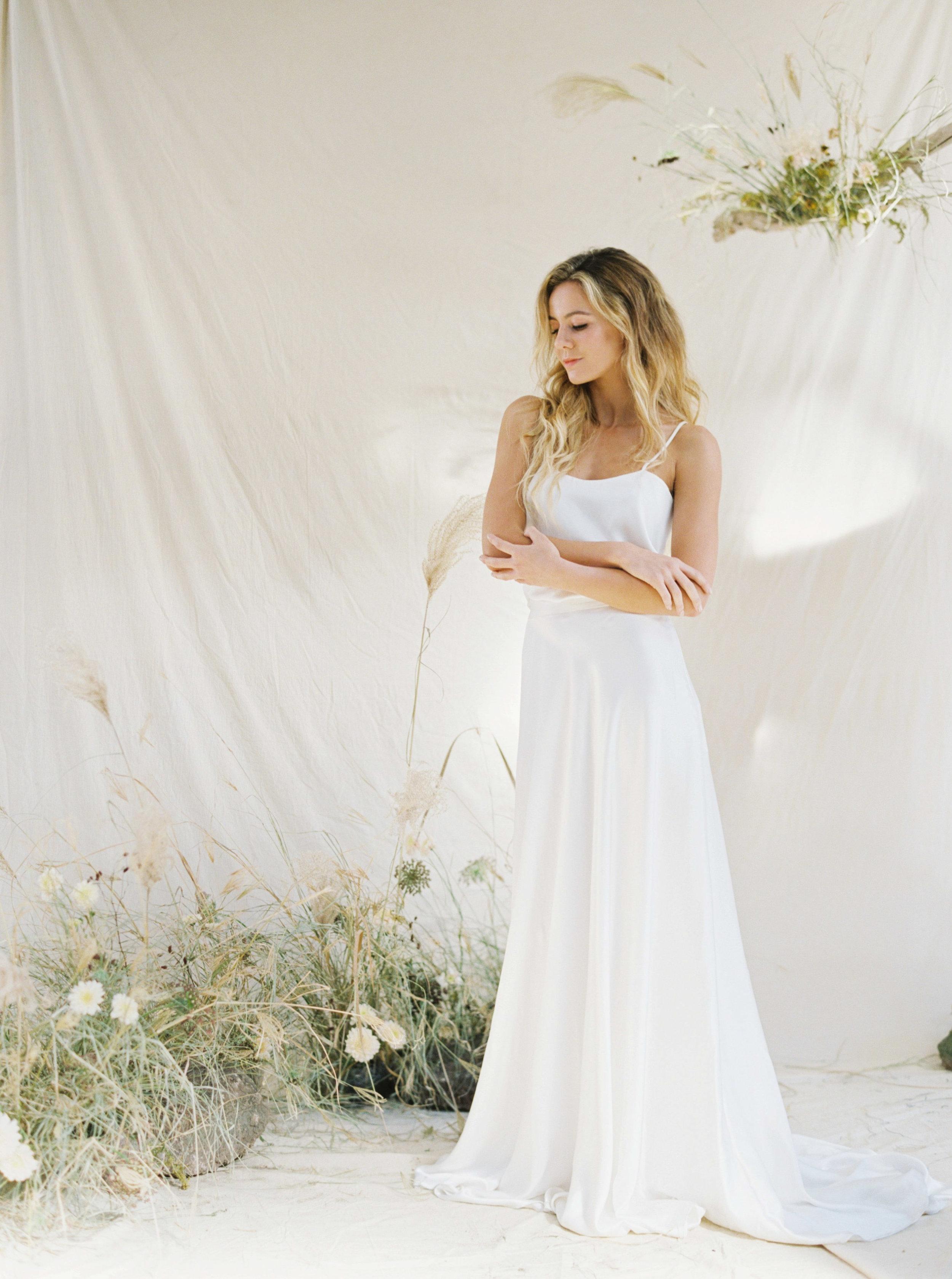 Copy of Sheri McMahon Fine Art Film NSW Sydney Bowral Wedding Photographer - Bride wedding gown
