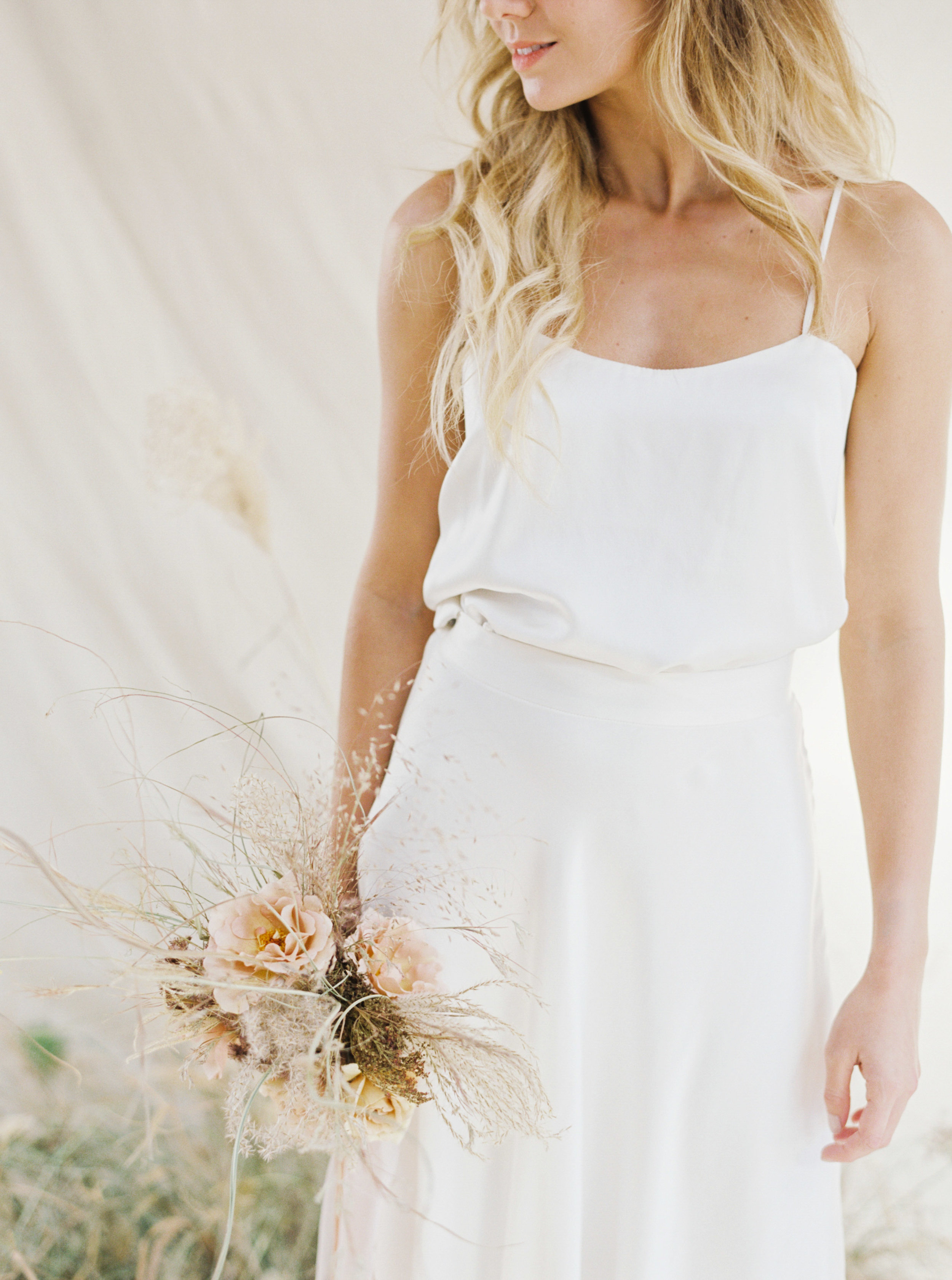 Copy of Sheri McMahon Fine Art Film NSW Sydney Bowral Wedding Photographer - Sydney Bride in wedding gown by Hope X Page