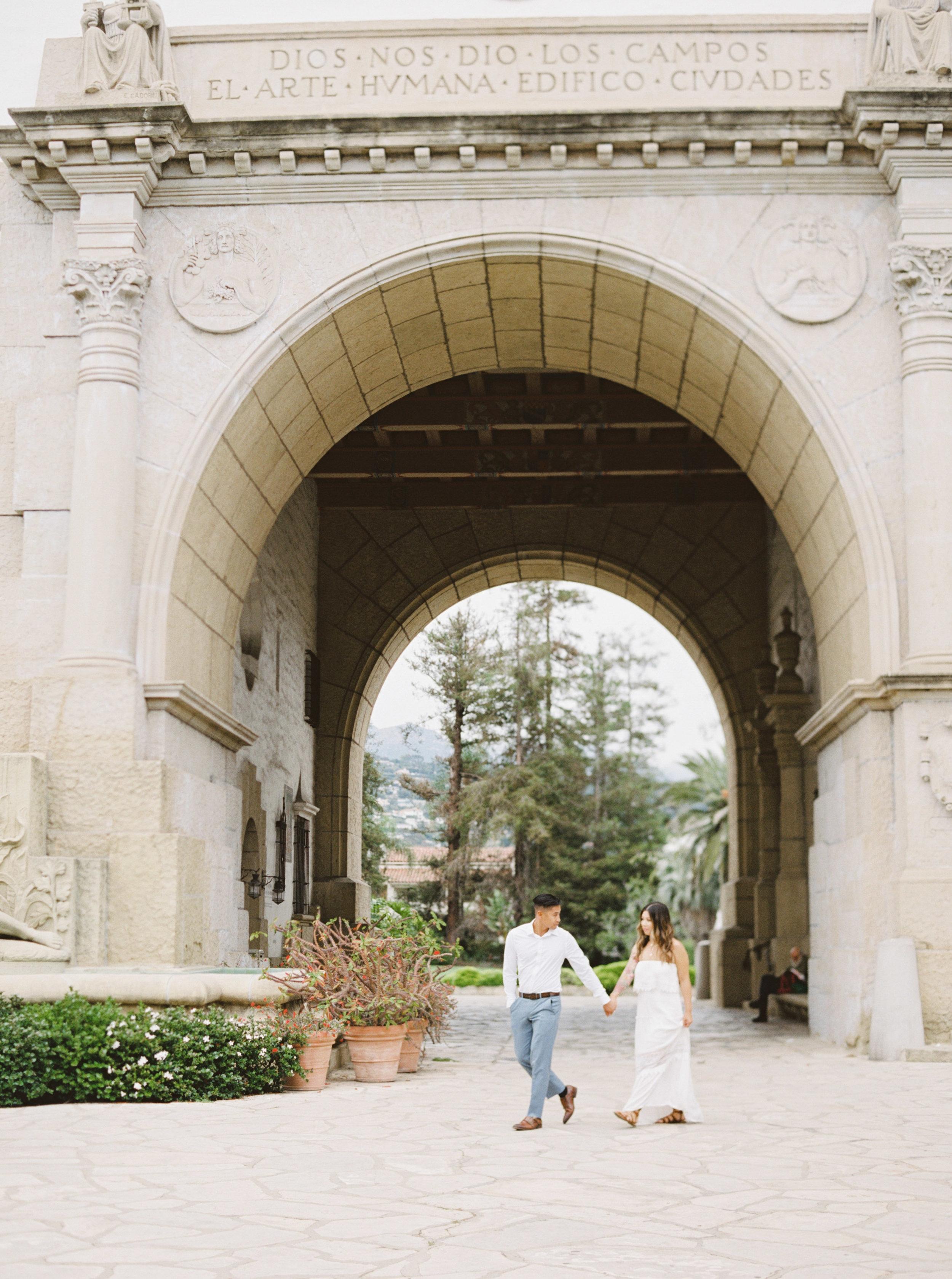 Santa Barbara California Fine Art Film Wedding Photographer Sheri McMahon