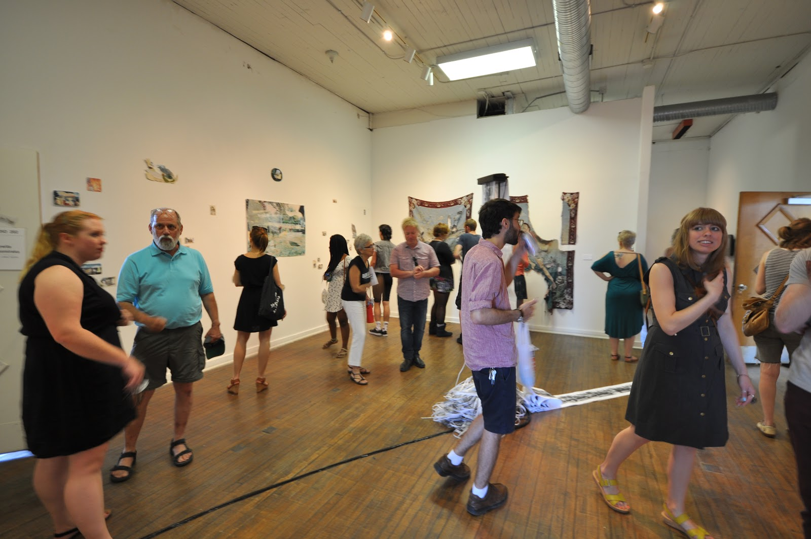 "Photo of ""Images and Ruins"", a group exhibition I curated at School 33, Baltimore, MD in 2013"