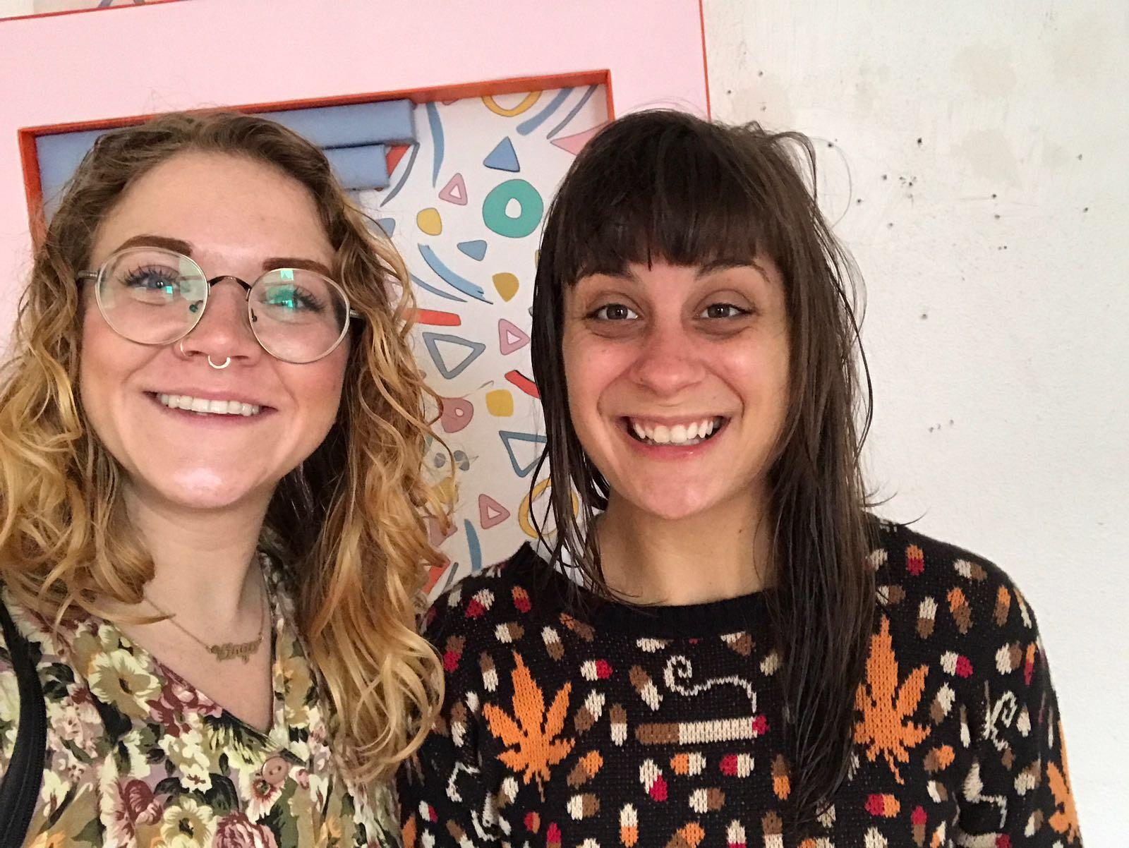 Carlyn with Leah Guadognoli