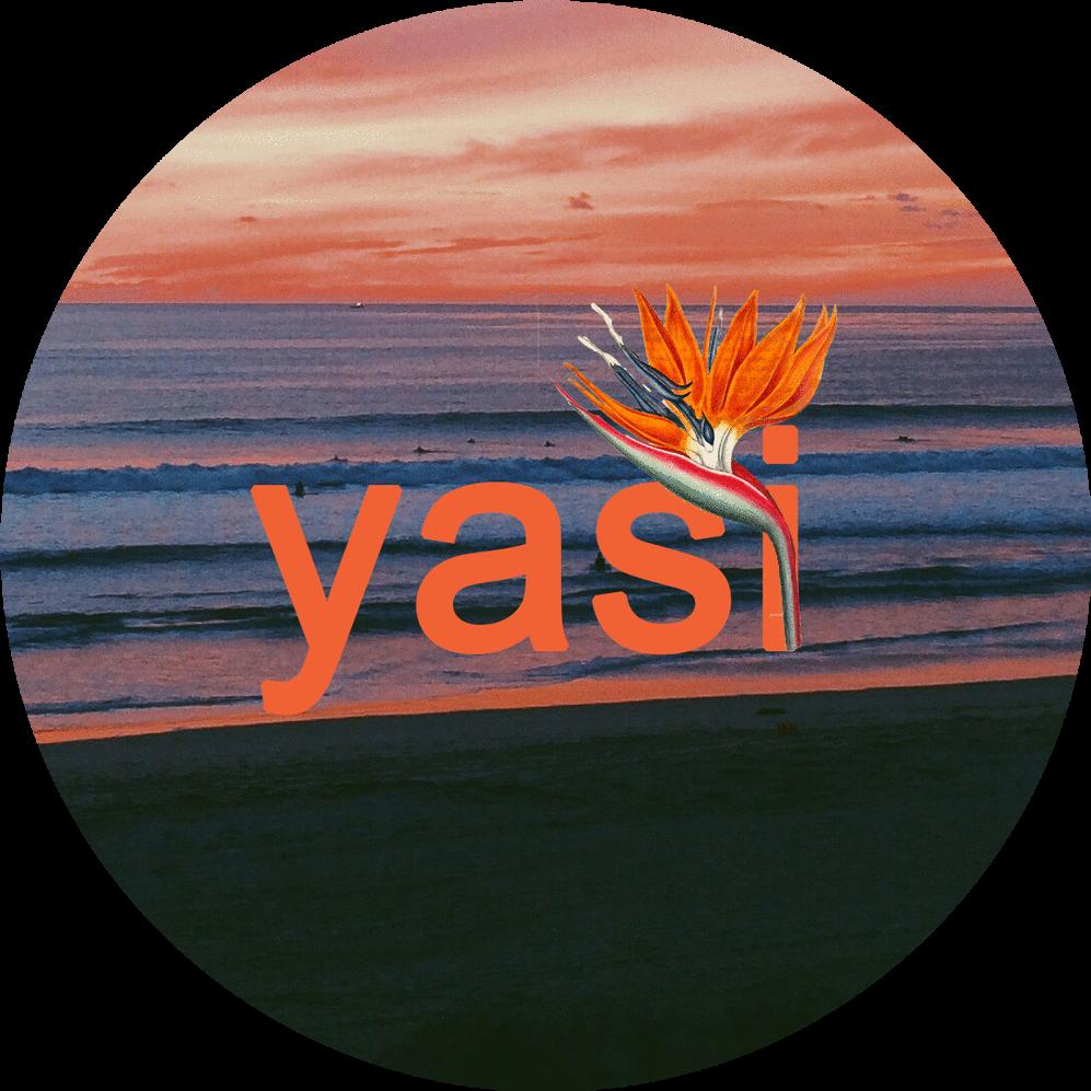yasi sticker. mixed media. 2018.