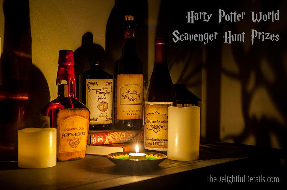 Harry Potter World Scavenger Hunt Prizes