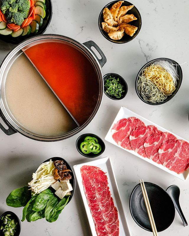 Who said hot pot can't be enjoyed during the summer? All You Can Eat Hot Pot is best year around!