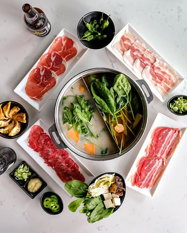 If your meals don't look like this you're not doing it right 😉 Come to Broth for ALL YOU CAN EAT Shabu Shabu! ✨