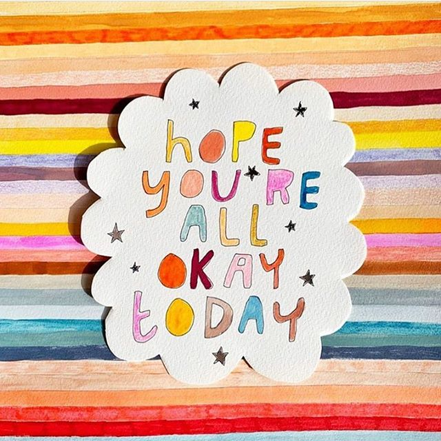 R U OK? Could be the biggest gift you could give. You never know when you might shine your light on someone's dark day by checking in on them and showing you care. You don't have to have the solutions, just being present for them, and listening can make the difference. Life is precious, powerful conversations can save one xx
