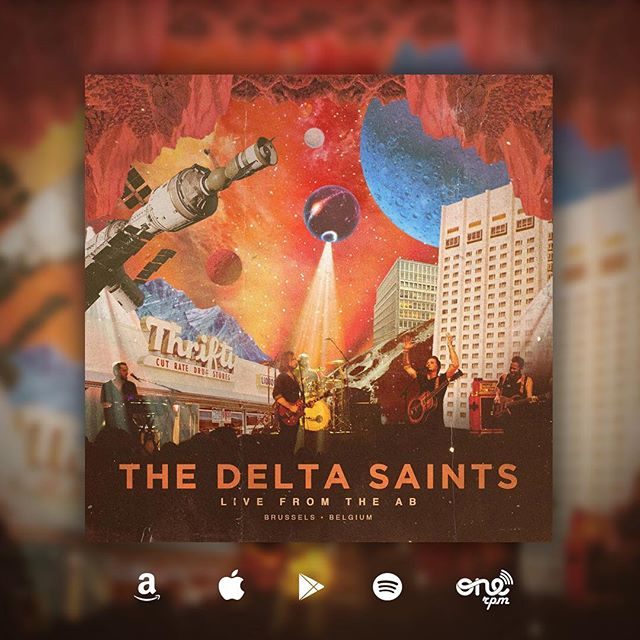 "RECORD RELEASE DAY! Our new record ""Live from the AB"" is finally out across the digital world. We recorded it at the incredible @abconcerts during our last European tour. Give it a listen (LINK IN BIO) and let us know what you think! #thedeltasaints #farewellfornowtour #anciennebelgique"