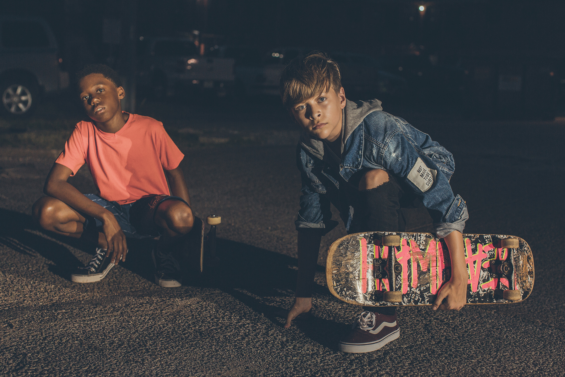 Teen Boys With Skateboard at Night_Alicia Stepp Photography_Kids.jpg