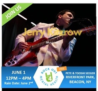 Join us for the this free event to see this artist and more as we seek to end the silence and take the first step toward a better tomorrow for all!  www.rockout4mentalhealth.com#iambeacon #hudsonvalley #rockout4mentalhealth