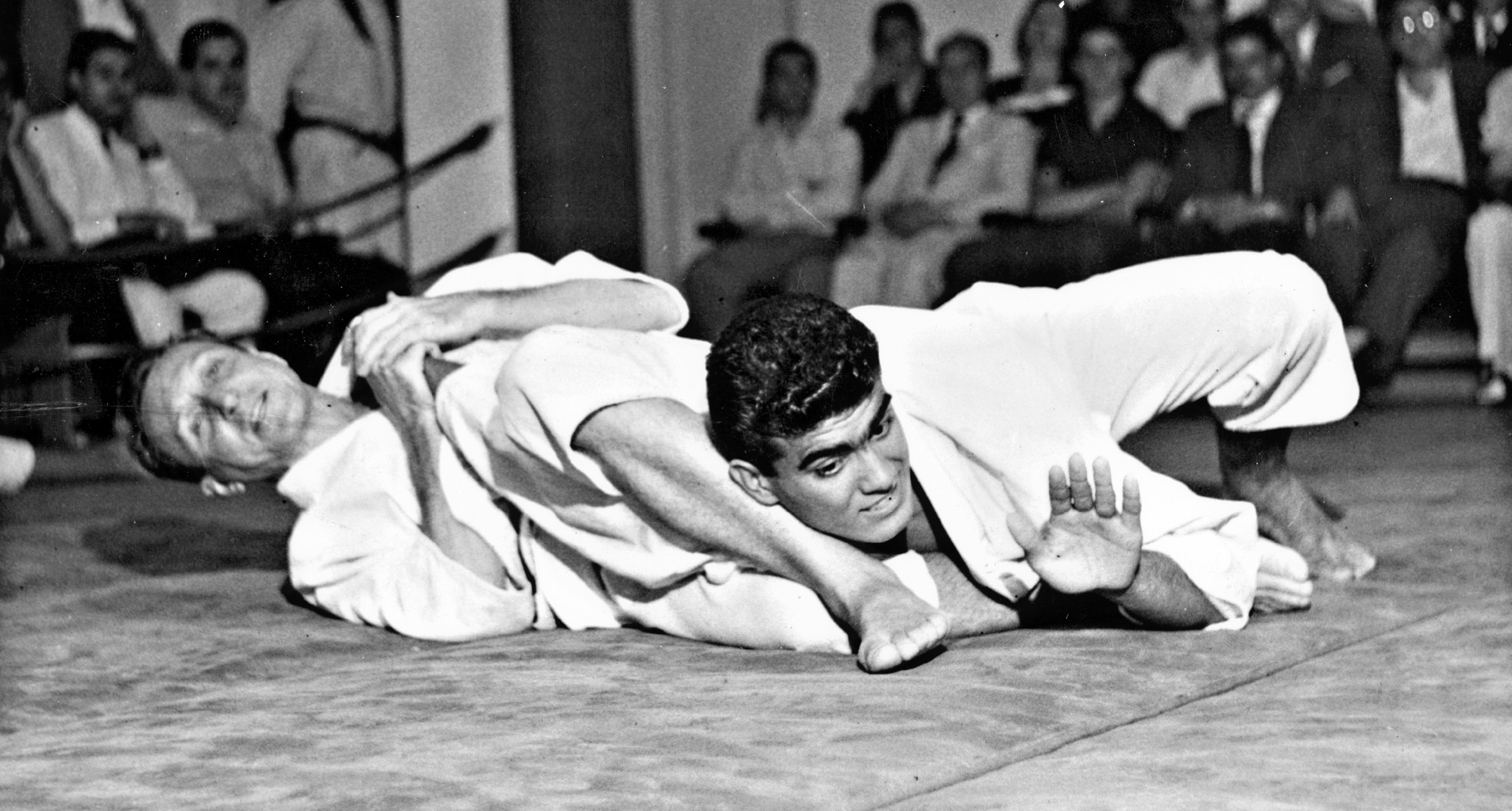 A Gracie Challenge match.