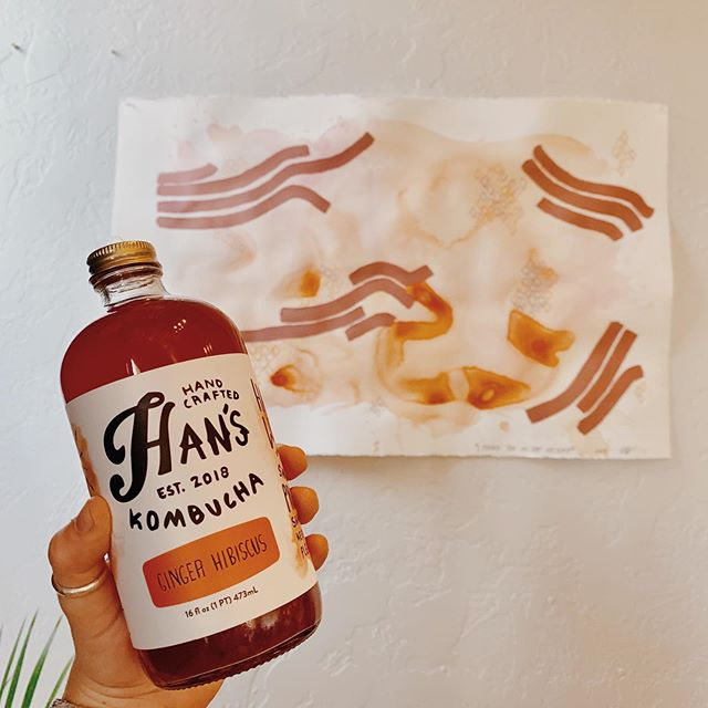 truly an honor to have my work in your space! loved seeing all the friendly + familiar faces at @hanskombucha's grand opening party! thank you so much for letting me be a part of it 🧡 . . . . . #fansofhans #kombucha #art_dailydose #artcollective #artdiscover #artfollow #artfeatureland #artistoftheday #lifeofanartist #artsviral #inspiredbynature #femalebusinessowner #womenwhowork #womenownedbusiness #communityovercompetition #mycreativecommunity #wearethecreativeeconomy #dailyarts #sharingart #mywork #myart #arts_promote #lifeofanartist #herestothecreatives #creativesontherise #creativecommunity #supportlocal