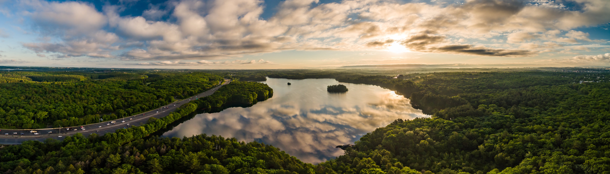 Spot Pond: Stoneham, MA