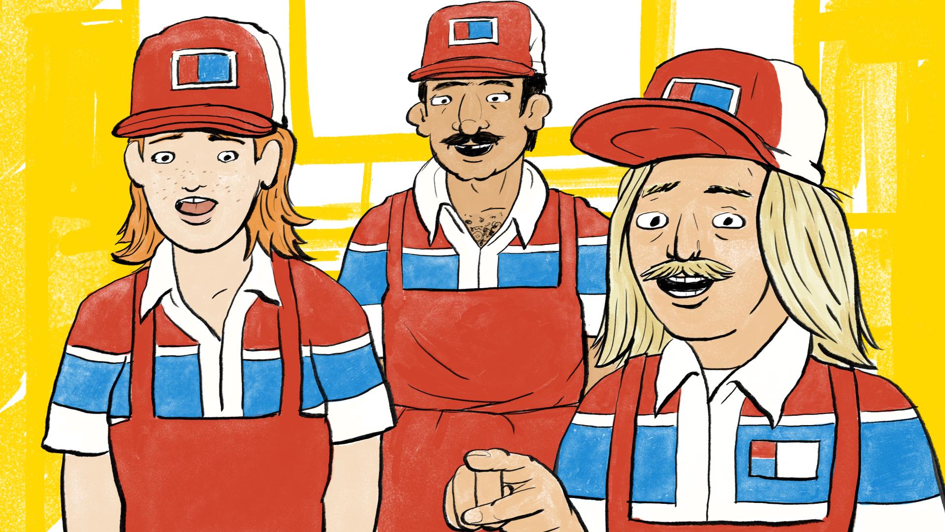 Domino's Workers