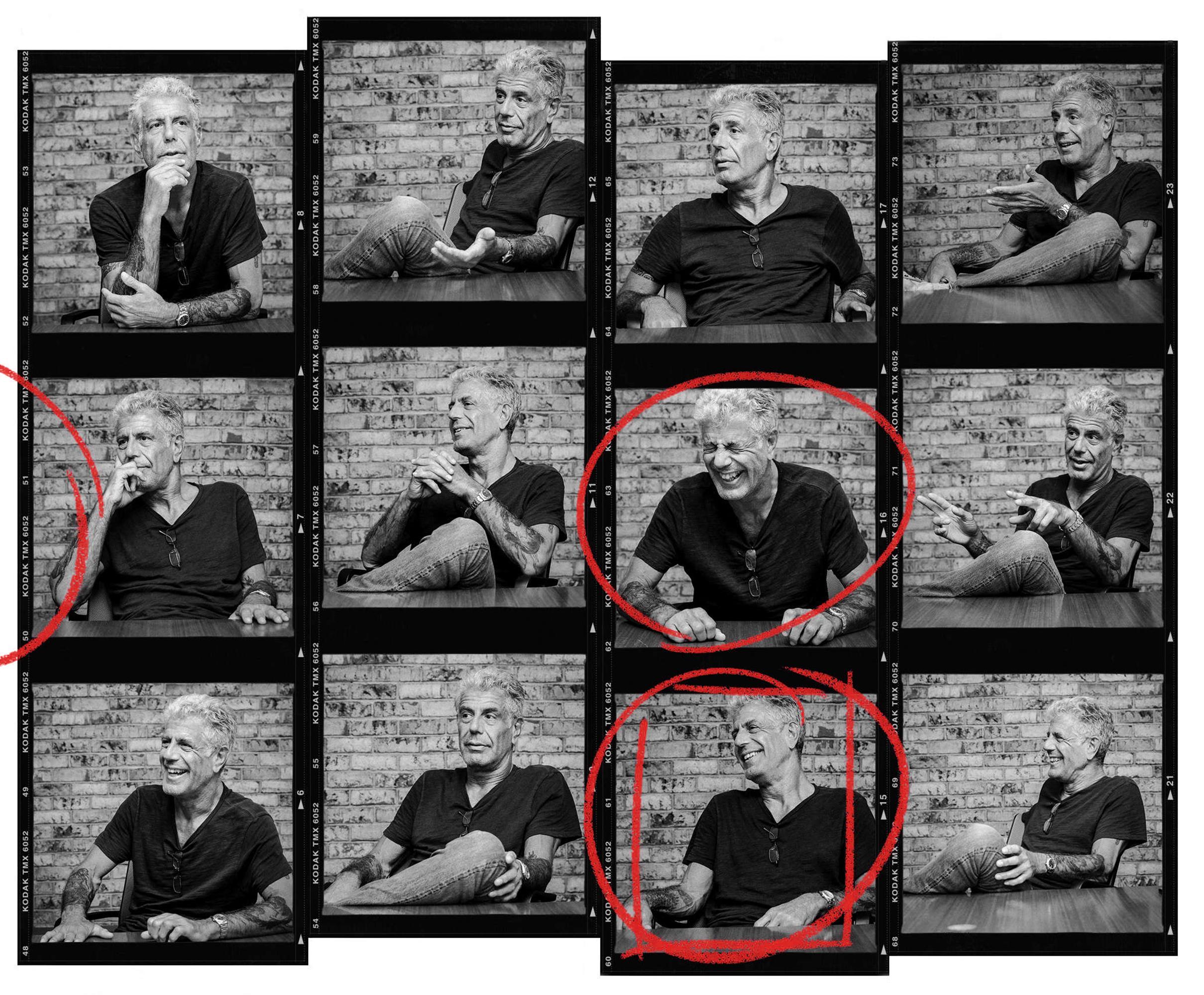 Anthony Bourdain, Chef/TV Host  for Thrillist.com New York, NY