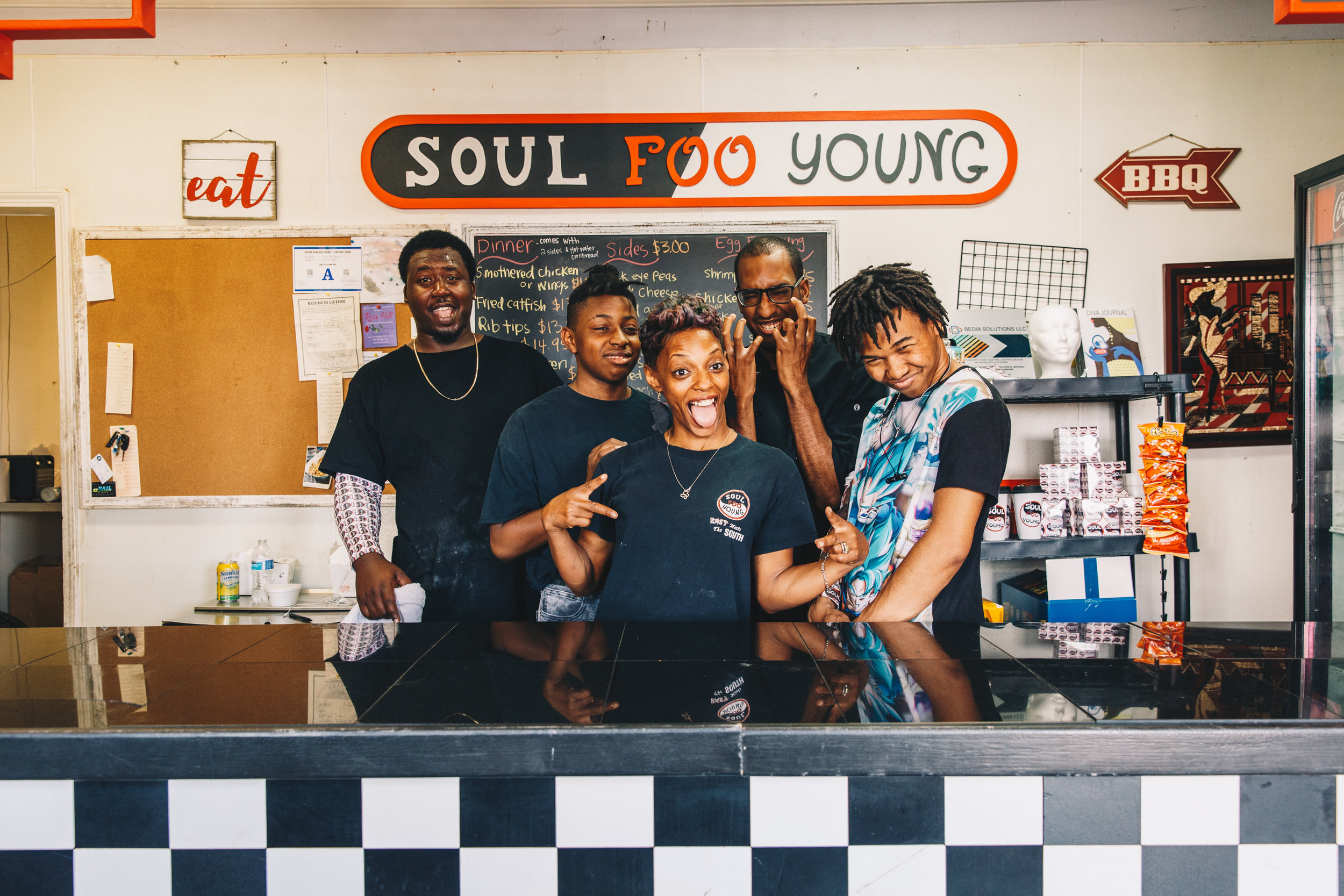 Owner of Soul Foo Young, Anita Hall and Family  Las Vegas, NV