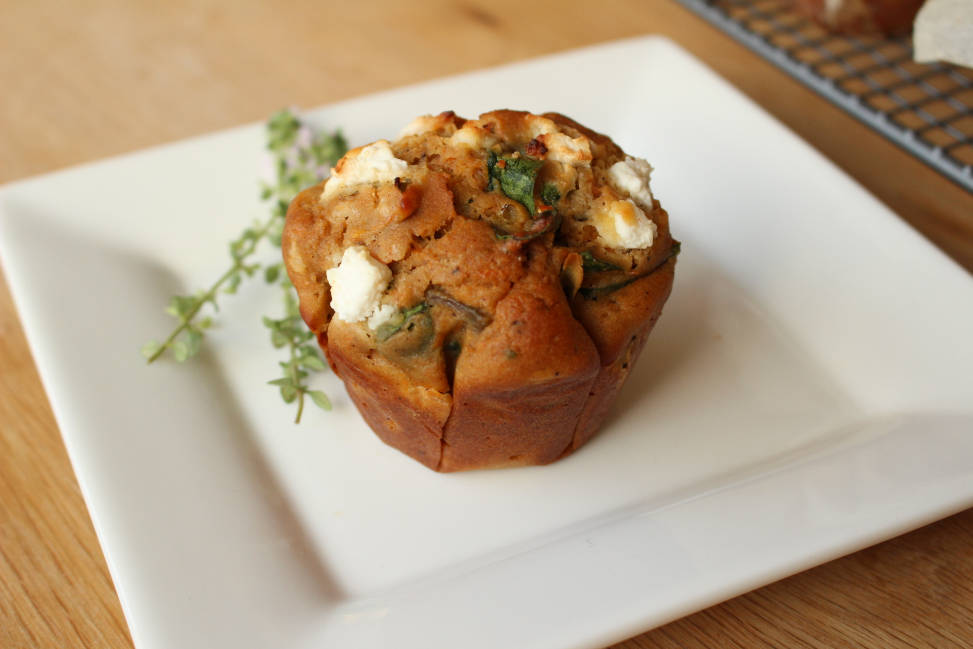 Gluten free savoury breakfast muffins pack a serve of veggies.