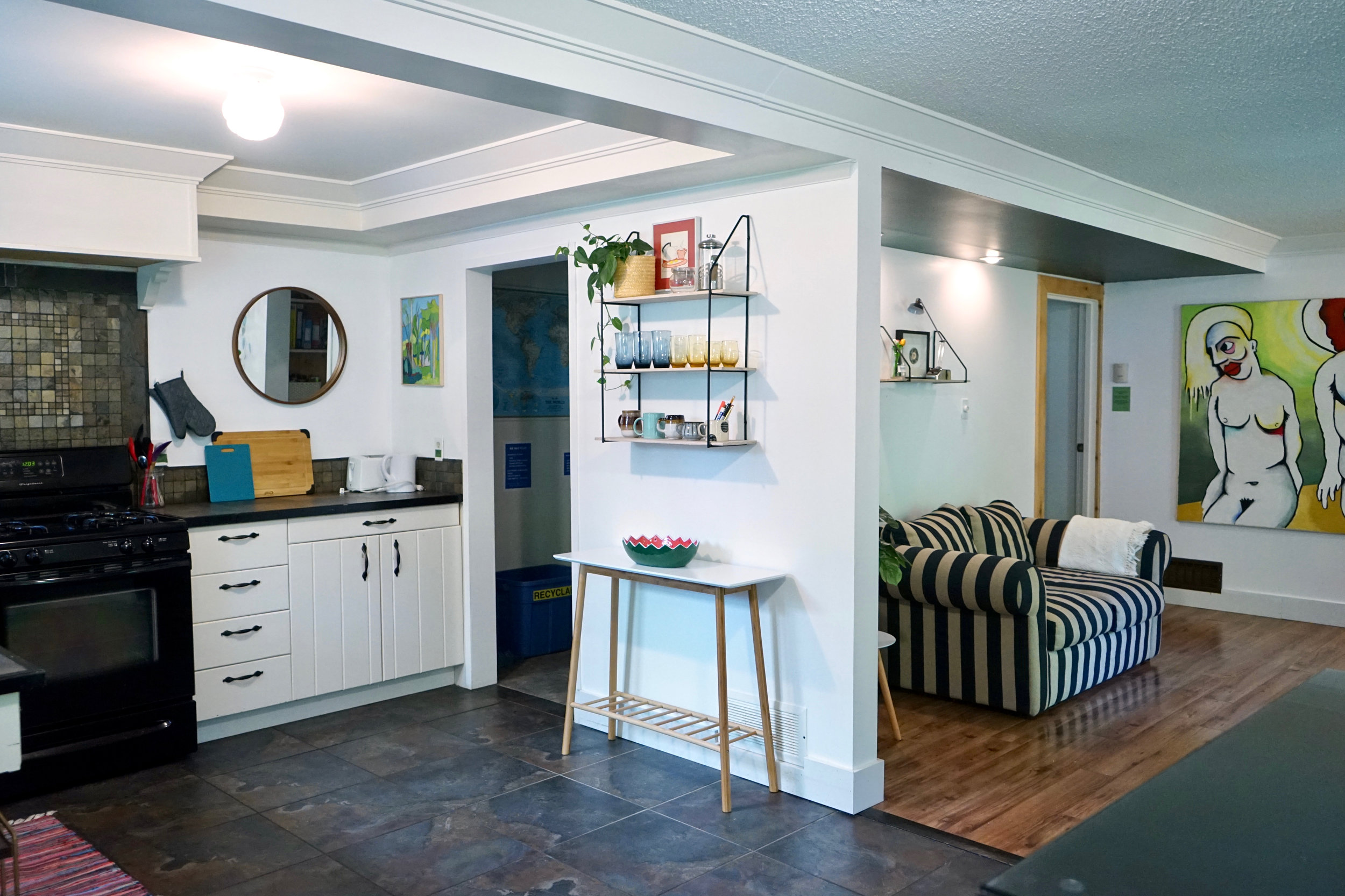 Shared Kitchen + Livingroom