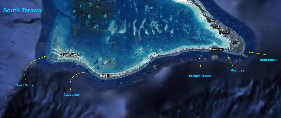 South Tarawa - Surf Mapping [CLICK TO ENLARGE]