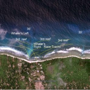 Fanning Island Surf Mapping