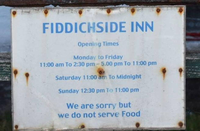 The Fiddichside Inn: A Step Back in Time