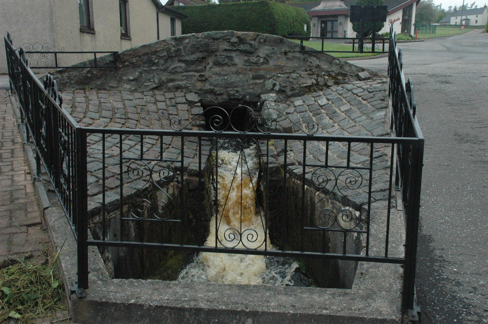Water source at Glenarclas Distillery