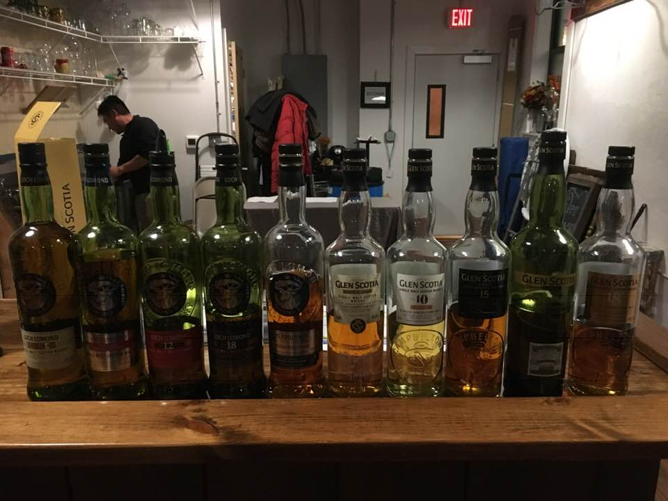January 17: Glen Scotia and Loch Lomond Tasting Event