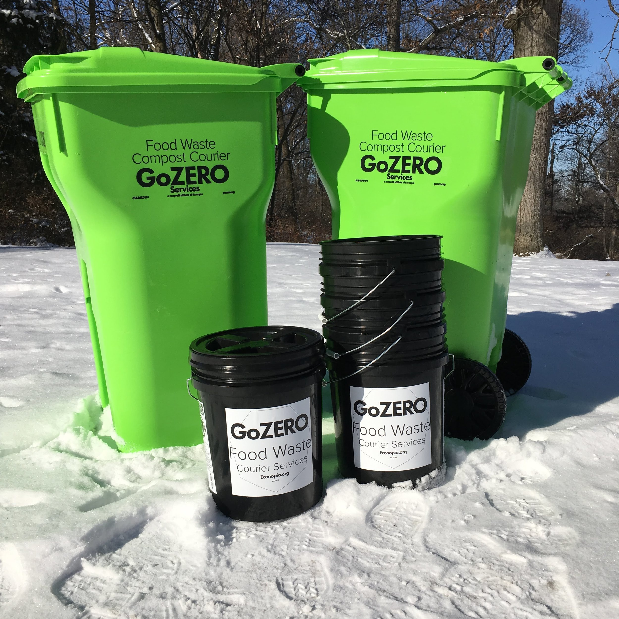 help your neighbors start composting