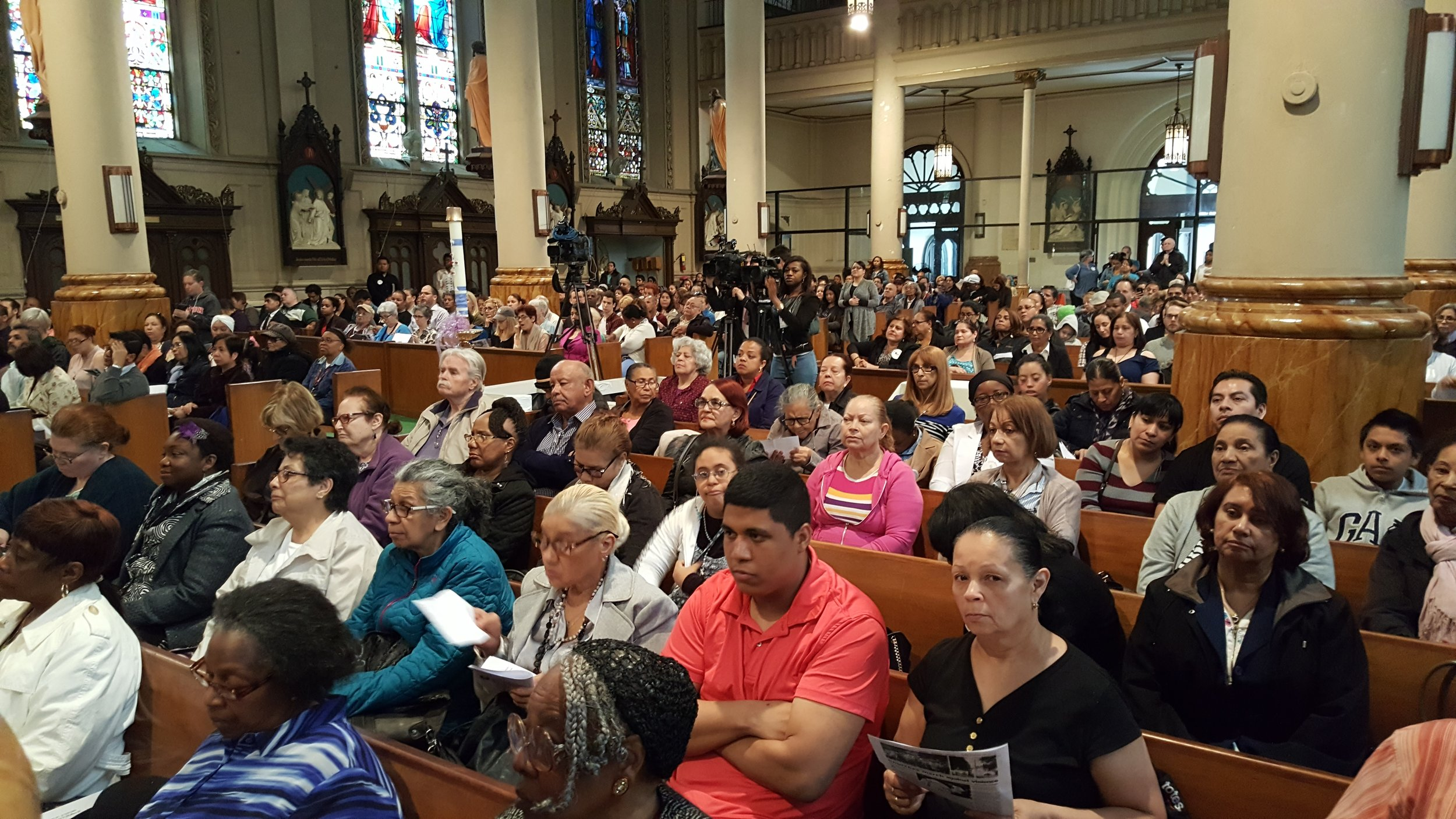 Over 650 NYC leaders gather to take action with Commissioner O'Neill
