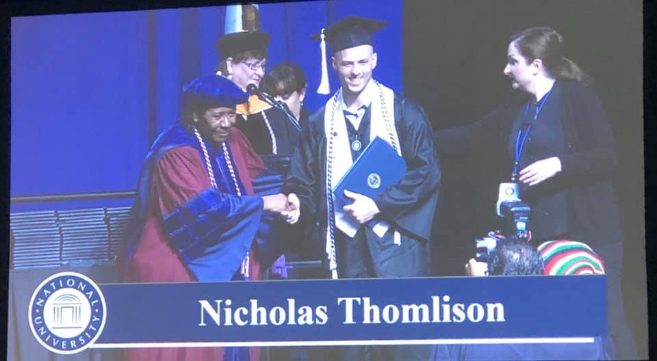 Congratulations Nick!!!  We are so proud of you, Way To GO!