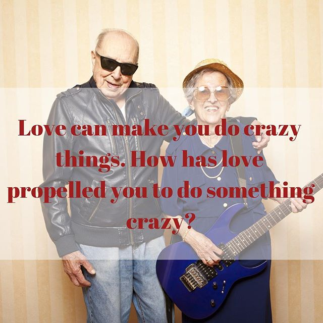 Love can make you do crazy things. How has love propelled you to do something crazy? #livessharedbeautifully #loveandloss #lifestories #madewithheart #letterpress #madewithlove #sharingisanactoflove