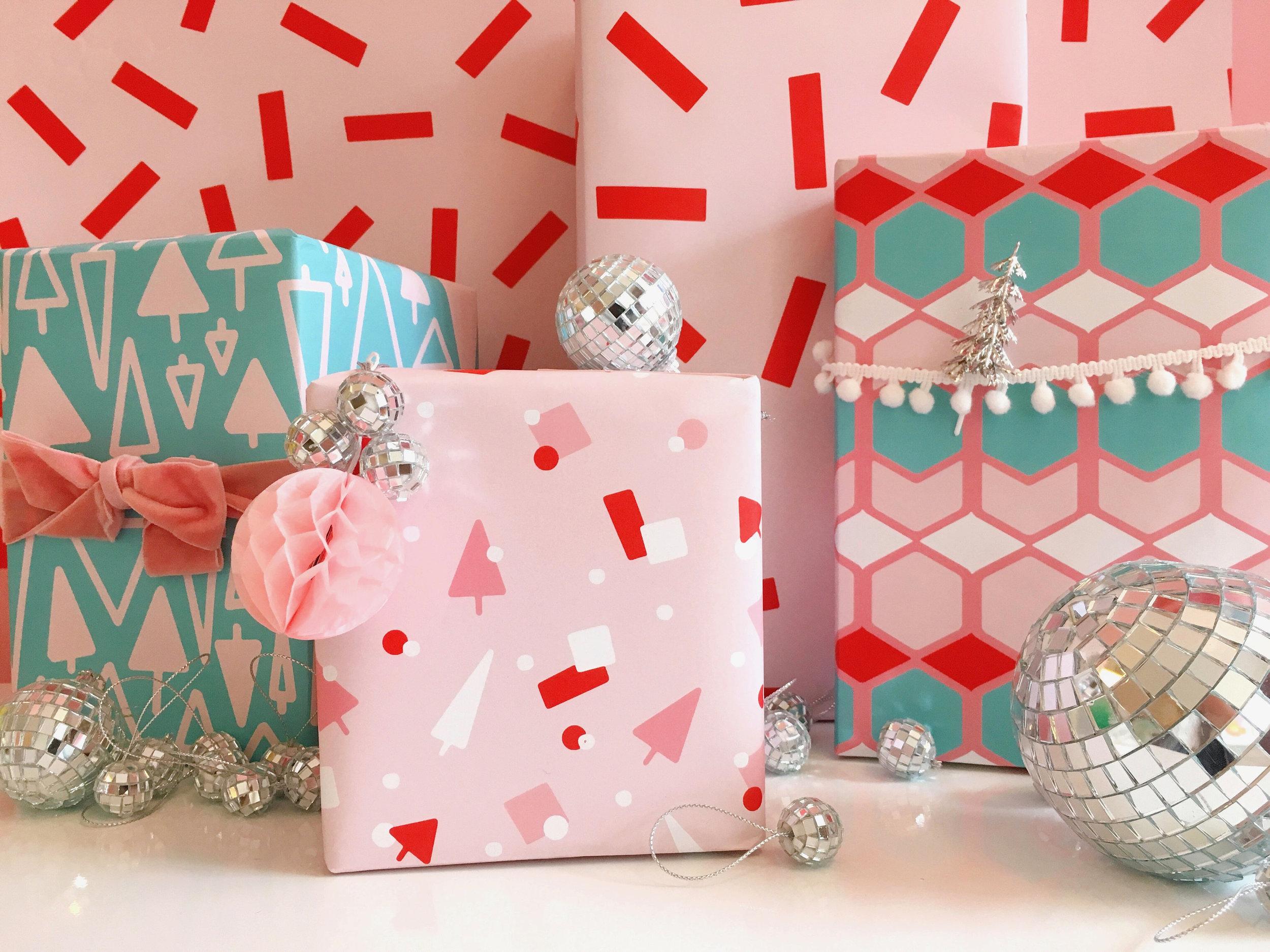 Bash Holiday Gift Wrap