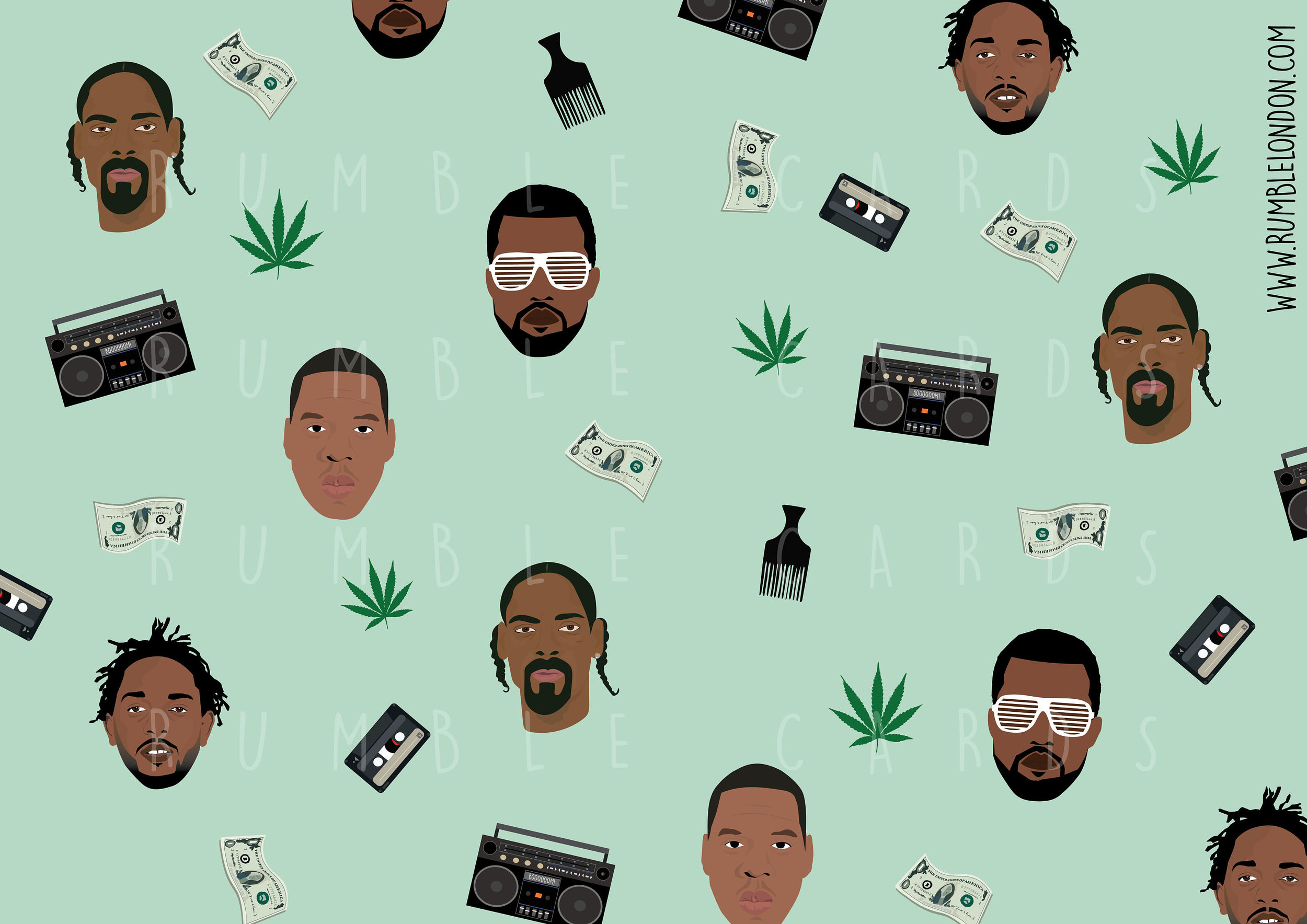 Hip Hop Rapping Paper