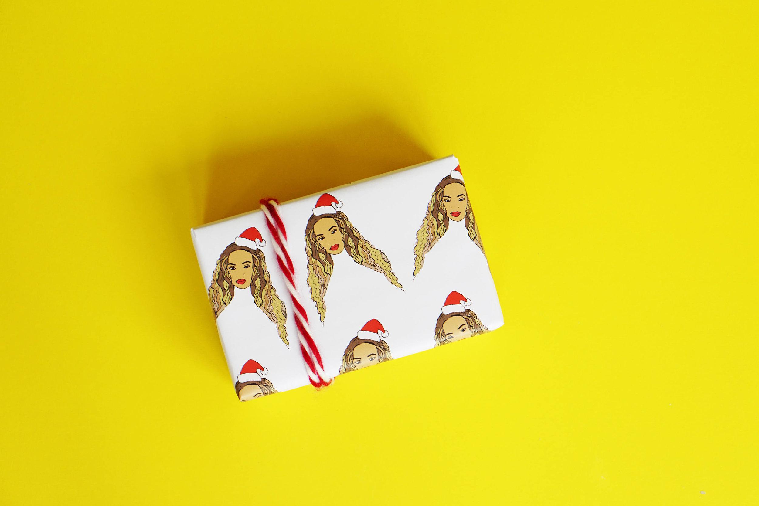 Beyonce Gift Wrap