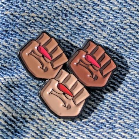 Solidarity Pin