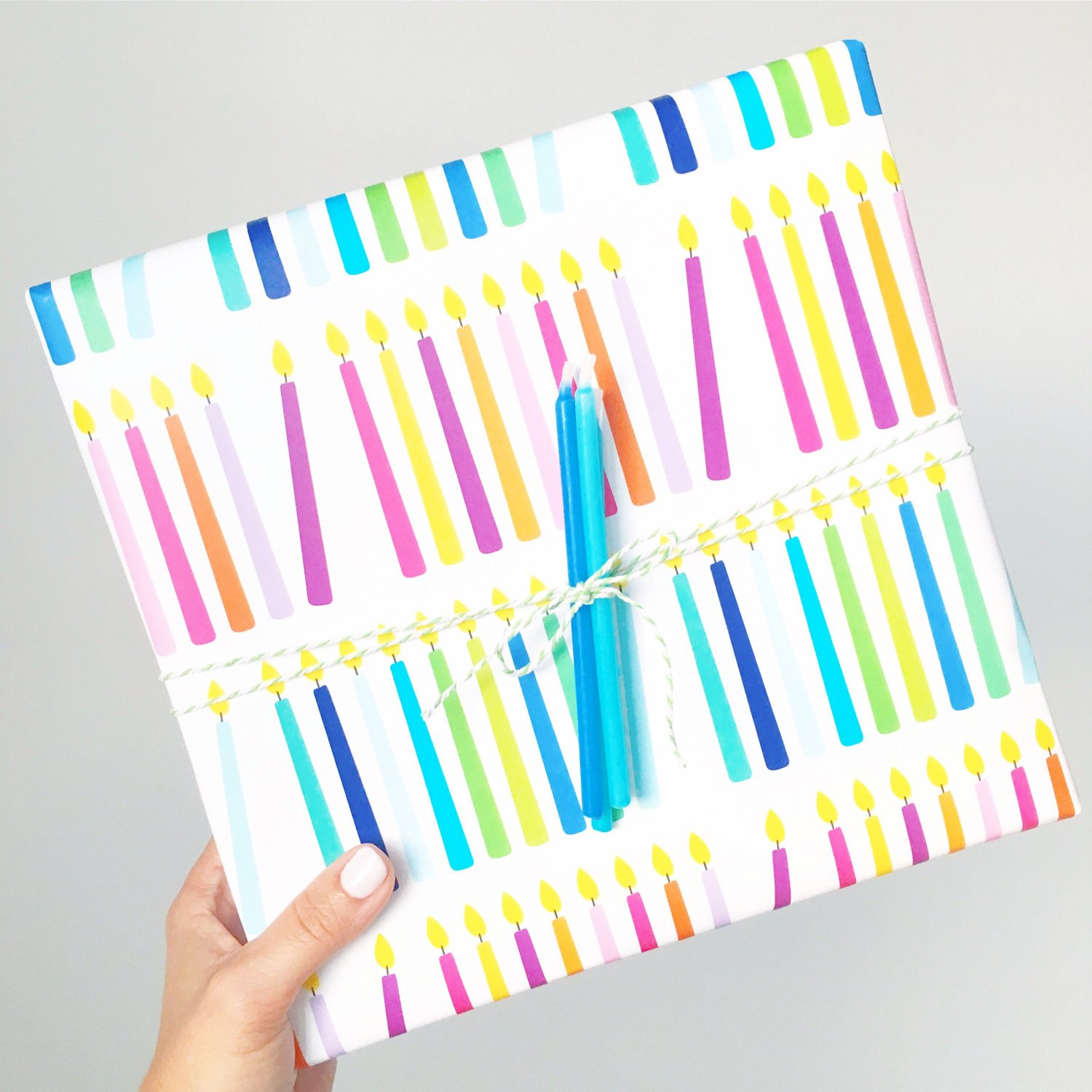Birthday / Hanukkah Candle Wrap